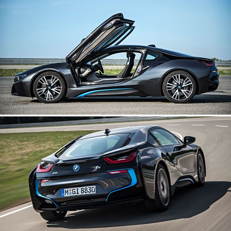 The New Supercar Of BMW Is A Hybrid. The New I8 Will Have