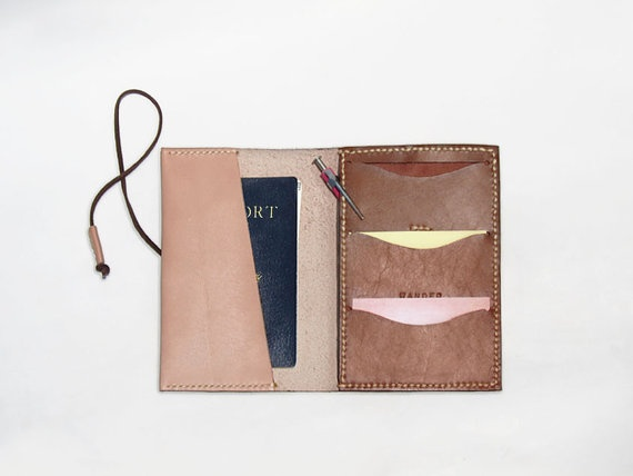 leather passport case. for my next travels, yes.