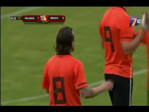 México vs Holanda.