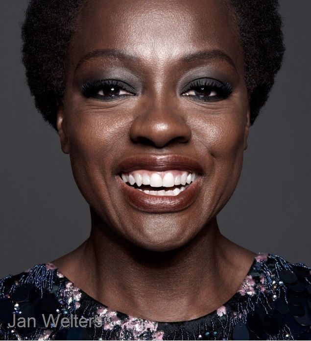 Viola In Full Bloom: Actress Viola Davis For InStyle Magazine January 2016