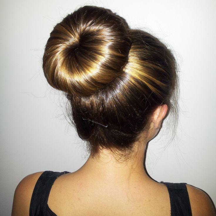 Einfach Edel Donut Bun Frisuren Zu Erstellen, Neat Image