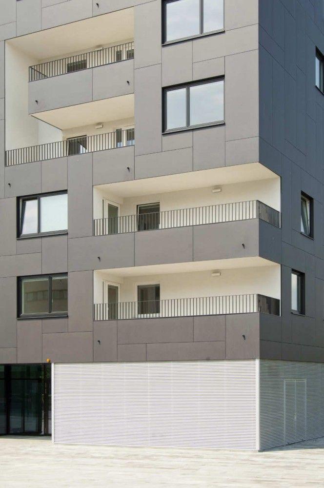 EQUITONE facade materials Stella Zwei / Zechner & Zechner equitone.com #architecture #material #facade