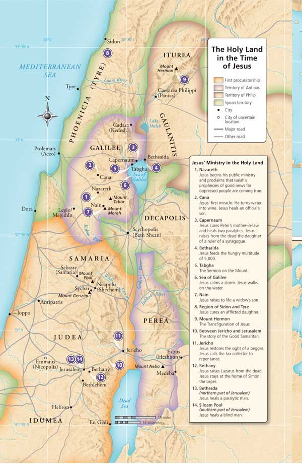 The Holy Land http://www.fivefoldministryireland.com