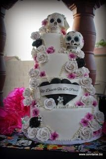 17 Best 1000 images about Nicole and Josh cake on Pinterest Skull
