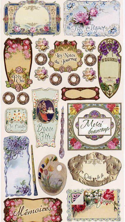 ♥ the digital bakery ♥: FREE printable Vintage labels