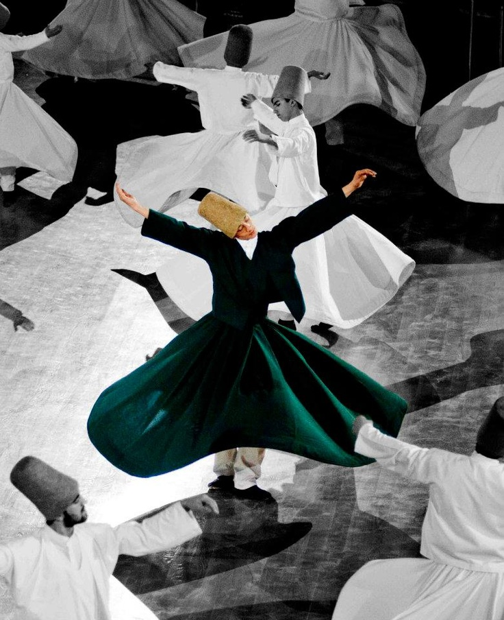 Whirling Dervishes in Konya, Turkey. © Mohammad Kheirkhah Photography