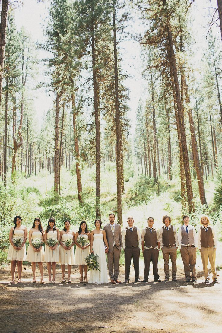 Not sure if we would have time to do the whole wedding party like this, but would love to take pics of the bridesmaids in the orchard since that's between the Trapp house and the ceremony