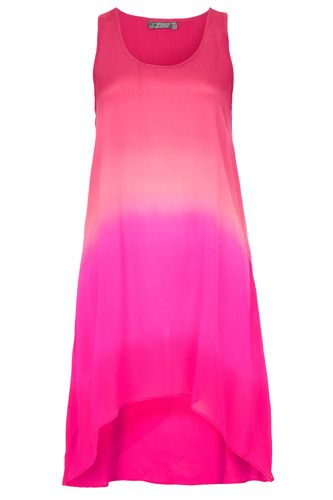 Topshop Dip Dye Ombre Silk Racer Dress, $ 150, available at Topshop, 478 Broadway (between Broome and Grand streets); 212-966-9555.