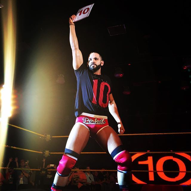 Thank you #NXTOKC! You get a #Perfect10 for the night! @wwedillinger