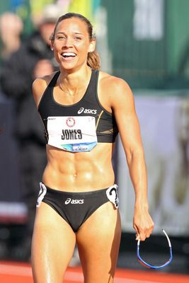 American sprinter Lolo Jones enters London as a gold-medal long shot in the 100-meter hurdles, but that hasn't dampened media enthusiasm for this attractive, witty crossover star.    Jones became a household name after discussing her struggle to remain a virgin in an interview with HBO's Real Sports.    Expect to hear her name plenty this summer, especially if she can qualify for the event final.