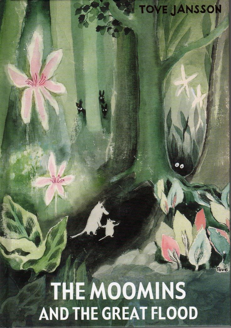 I can't decide if the Moomins are written for kids or adults. I loved them then and love them even more now. Beautiful stories by Tove Jansson.
