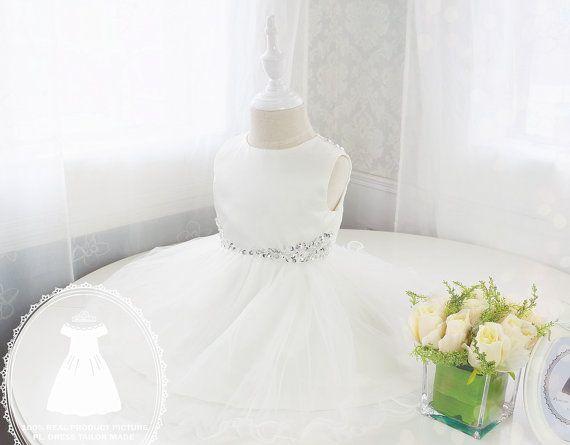 Kleinkind Glitz Festzug Kleid mit Bling Bling von LittleGracious