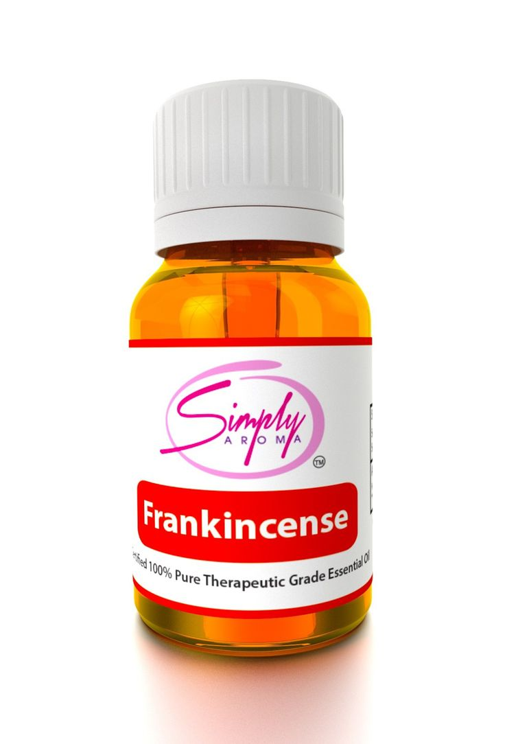 Simply Aroma - Frankincense (Boswellia carteri - France) - 10mL Product # [1001] How to use: Diffuse, use as a dietary supplement, or apply topically.  Description: In 3000 B.C., the Frankincense oil value was greater than that of gold. It was also known as the liquid gold. Since the Frankincense oil is so rare it is known as one of the most expensive essential oils. Frankincense is mostly known for promoting a sense of peace, calmness, relaxation and serenity in any way the oil is used.