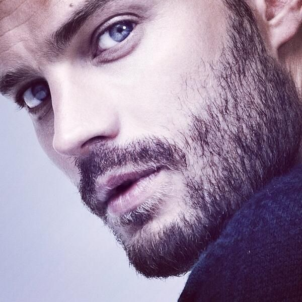 Jamie Dornan yeux bleu