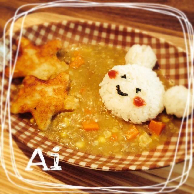ハルさんのハッシュドポテト☆ 七夕という事で、星型にして子供の挽肉カレーに添えましたぁー(^_−)−☆ 子供が大好きなのはもちろん‼︎大人も大好き♡♡♡ハッシュドポテトが手作り出来るなんて嬉しい(≧∇≦)  実は作るのは2回目‼︎とっても美味しくってリピで〜す(〃)´艸`)オイシー♪ 今回はたっくさん作ったので、冷凍もしましたo(^_-)O 素敵レシピ(๑ ॣ•͈ٮ•͈ ॣ)♡アリガトゥ♡ございますー‼︎  最近作ってたしょうこさん、食べ友しちゃいます(♡ˊ艸ˋ♡) - 97件のもぐもぐ - ハルさんの料理 簡単、ハッシュドポテト☆七夕カレーに添えて☆ by aioai98421