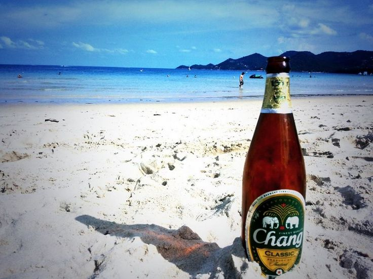 Chilling at the #Chewang beach in #KohSamui. #Travel #Thailand #Adventure #TravelAdventurer #GrabYourDream