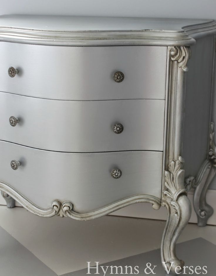 Best 25 Silver Painted Furniture Ideas On Pinterest Silver Dresser Spray Painted Furniture