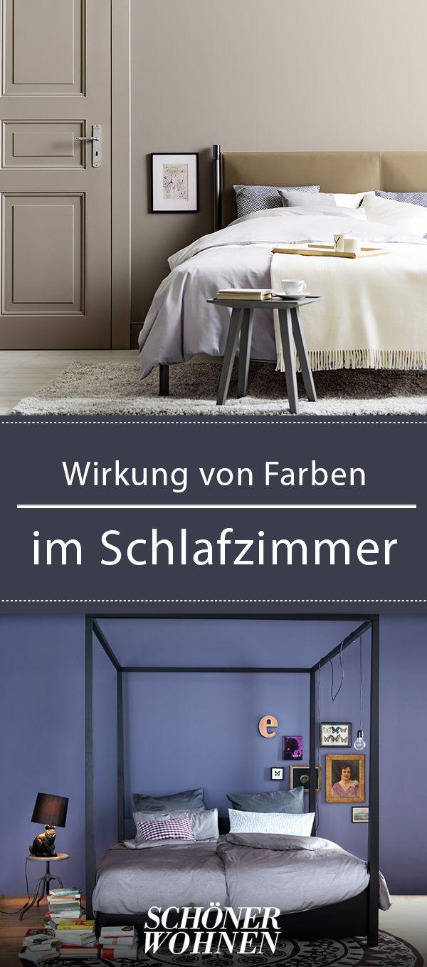 Wirkung von Farben im Schlafzimmer – ein Ratgeber ...
