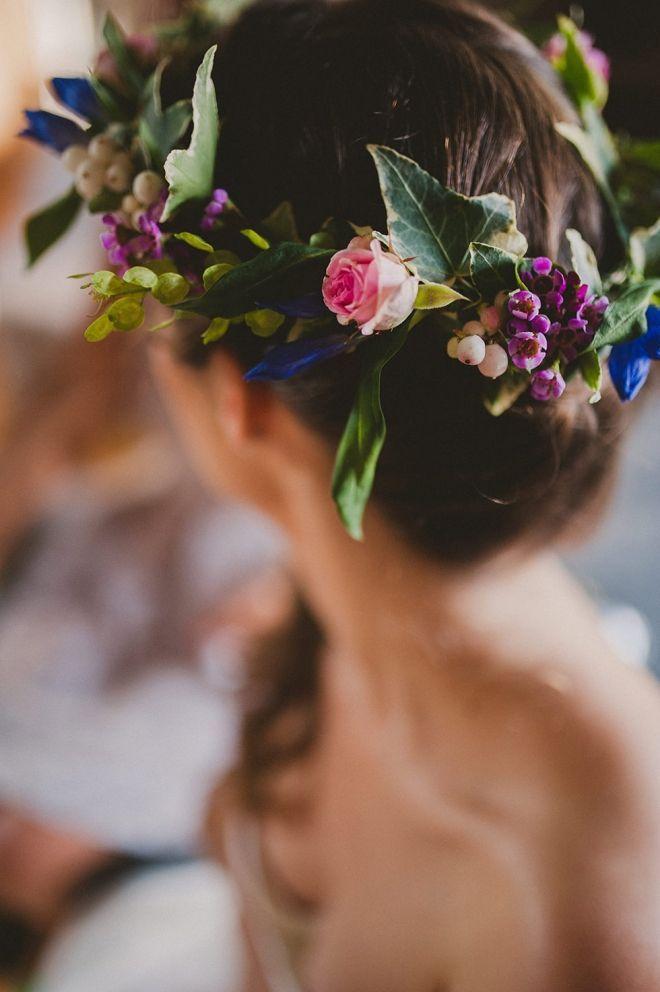 Coiffure mariage : Elsa & Juan  Wedding Day  Domaine des Evis