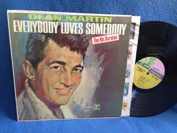 Vintage Dean Martin  Everybody Loves Somebody by sweetleafvinyl
