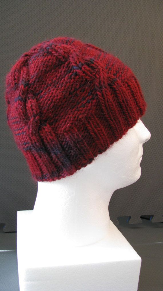 Hand Knitted Hat Patterns - Crazyauntpurl easy slouchy hand knit ...