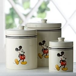 Disney Canisters | Mickey Mouse Kitchen Decor