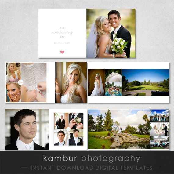 Psd Wedding Al Template 12x12 16 Spread 32 Pages And A Cover