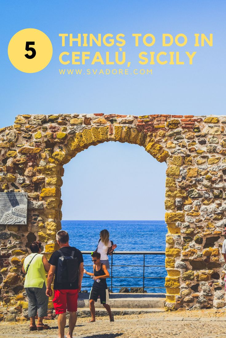 An Afternoon in Cefalù, Sicily: What To Do, See And Eat. This postcard-perfect Arab fishing village had been gentrified by Norman King Roger II, who founded one of Sicily's most magnificent cathedral. My mother and I decided to visit Cefalu, hoping that it had retained its old town charm. Since the town is small, we spent an afternoon wandering around the colorful village, sparkling sea, and pretty harbor. More on my travel experience on my travel blog www.svadore.com.