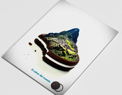 """Check out new work on my @Behance portfolio: """"Campaña Galletas Oreo"""" http://on.be.net/1OxFdeD"""