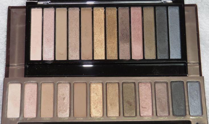 *Nina's Bargain Beauty*: Makeup Revolution Redemption Palette Iconic 1 vs The Naked Palette
