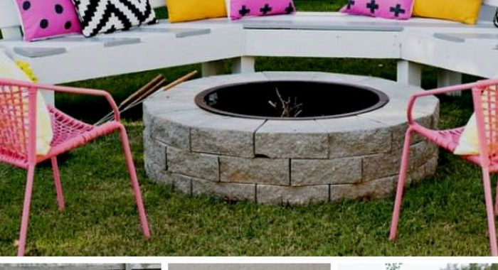 The Ultimate Fire Pit Bbq And Table Combo Grill 1001 Gardens Outdoor Fire Pit Cinder Block Bench Fire Pit