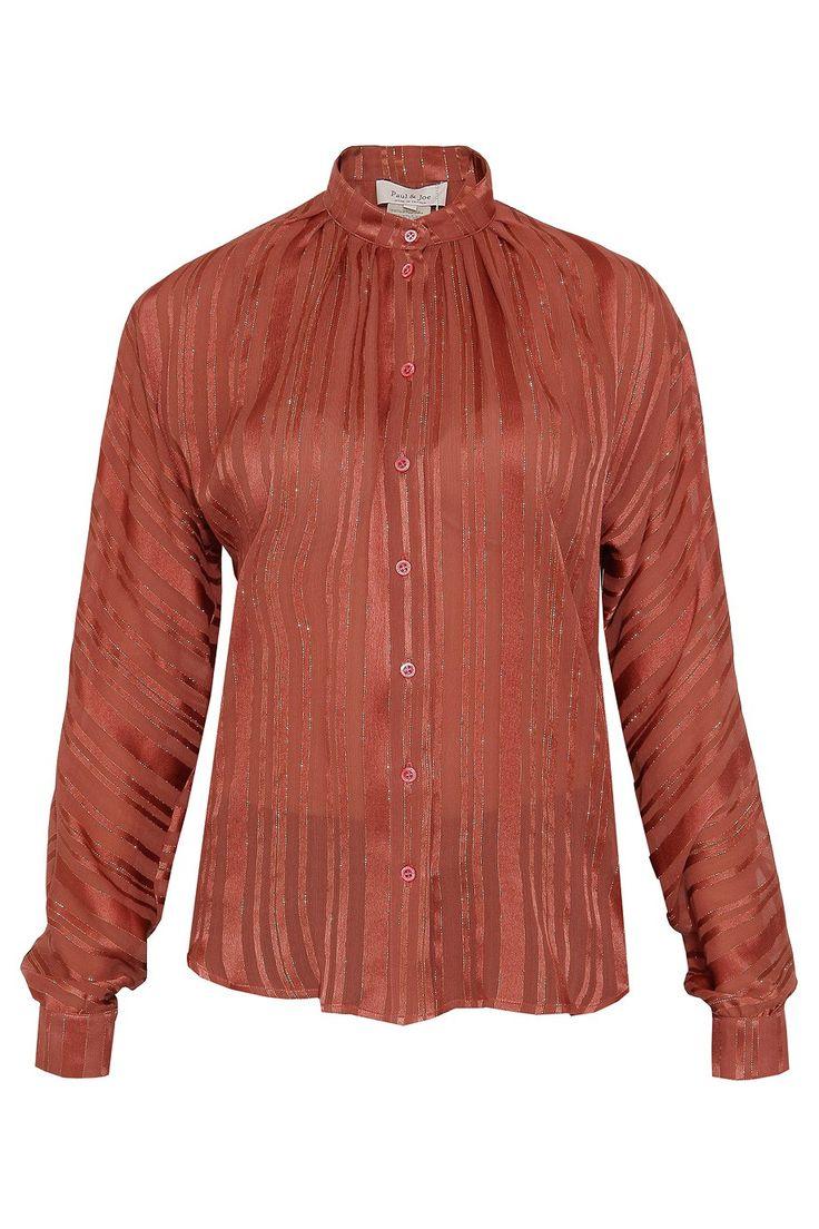 Lurex Stripe Shirt By PAUL