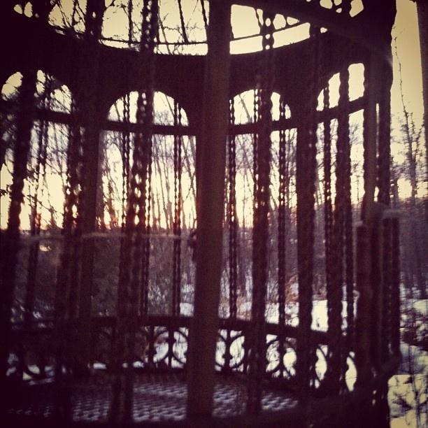 - @nediard | Webstagram  Birdie cage!