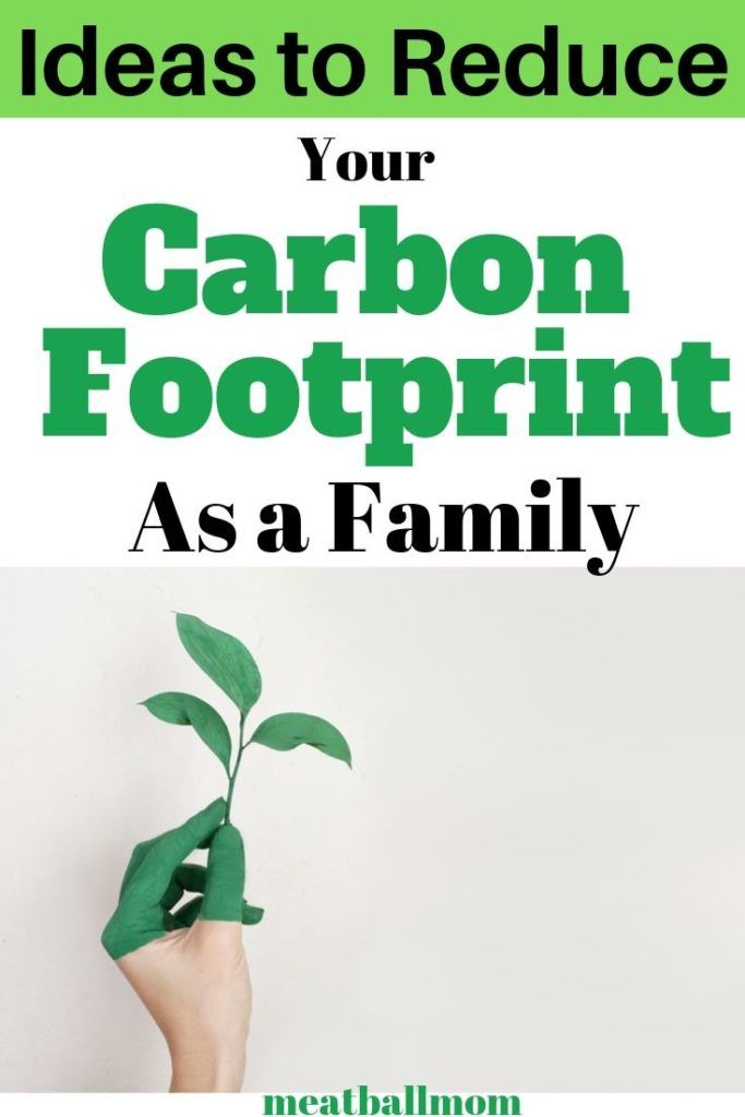 How To Reduce Your Carbon Footprint As A Family Meatball Mom In 2020 Carbon Footprint Carbon Footprint Calculator Carbon