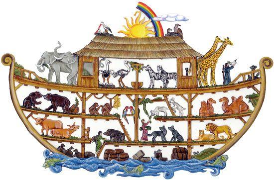 断面図…? ノアの方舟の絵
