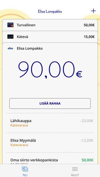 Elisa Wallet - Renewal: (iOS)