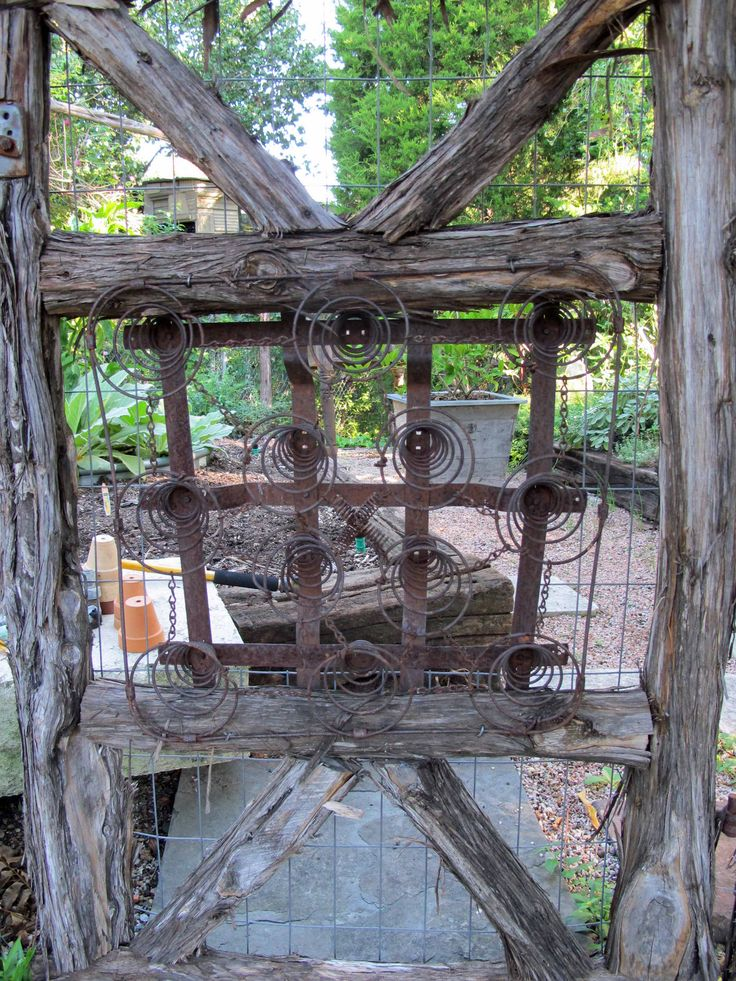 28 best images about rustic gates and fences on pinterest for Wooden garden gate plans and designs