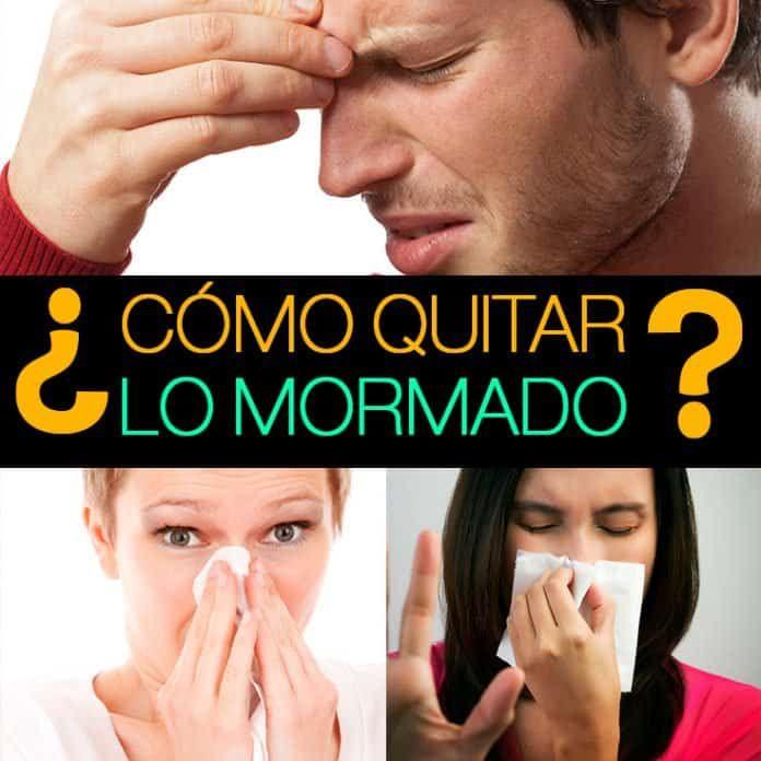 Cómo deshacerse de una nariz tapada remedios caseros rápidos