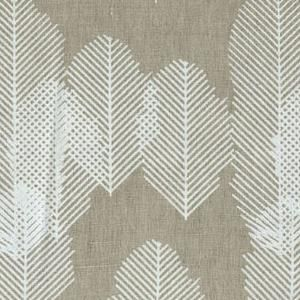 block print textile from india for purl soho: Textiles From India, Fabrics India, Blocks Prints Fabrics, Feathers Patterns, Gold Feathers, Patterns Ideas, Leaf Patterns, Prints Textiles, Blocks Feathers Prints