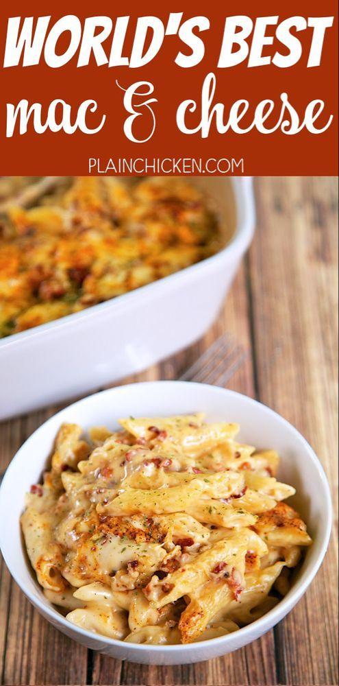 Der beste Mac und Käse der Welt | Plain Chicken® – #BESTE #chicken #Der #Käse…