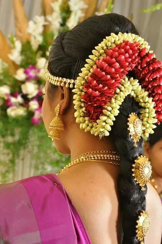 17 Best Images About Indian Bridal Hair On Pinterest
