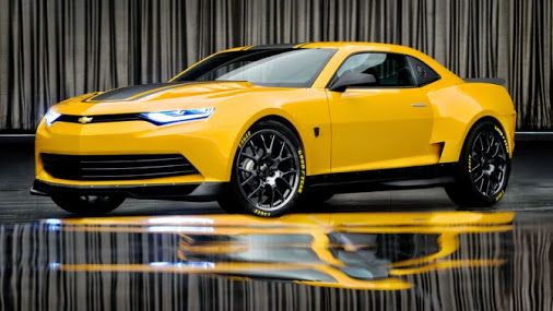 Transformers Age of Extinction: Bumblebee (Chevrolet Camaro concept)