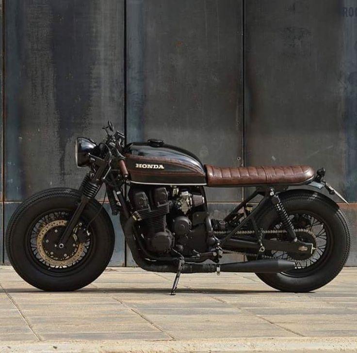 Love this gas tank design CB750 Four