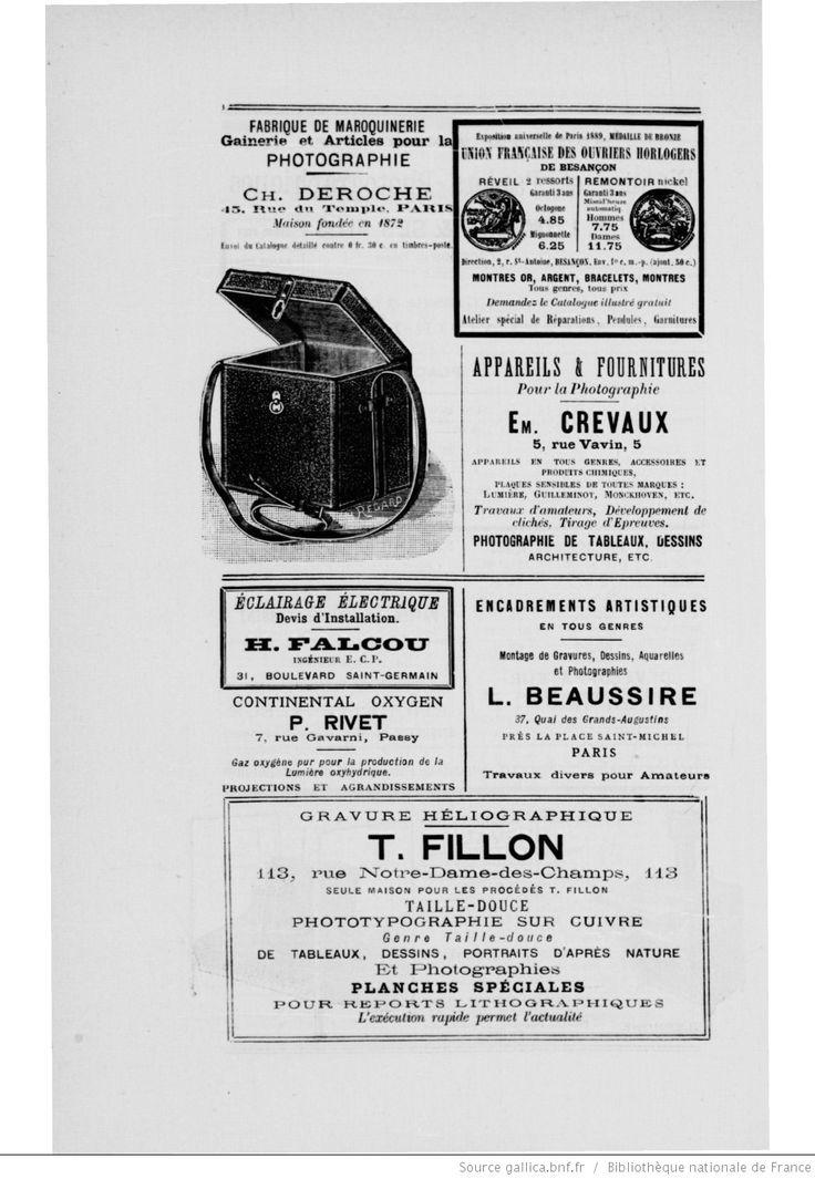 Bulletin du Photo-club de Paris  organe officiel de la société