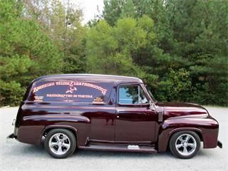 1954 Ford Panel Truck.