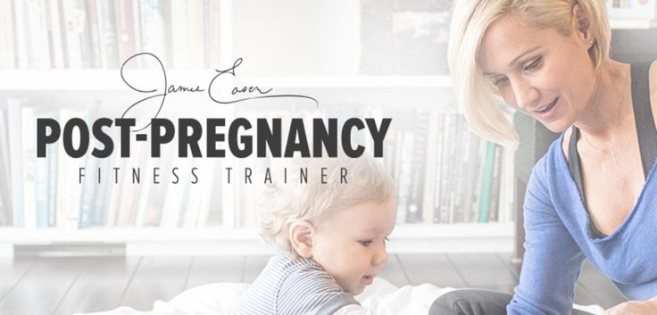 Ready to get fit after the birth of your new baby? Jamie Eason is here to help. Check out her upcoming 12-week post-pregnancy plan and learn how you can achieve the best shape of your life!