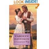 A Convenient Wife by Carolyn Davidson