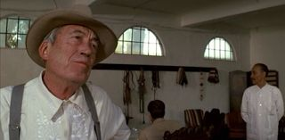 Chinatown is a fantastic mystery and the man behind the mystery is John Huston as Noah Cross