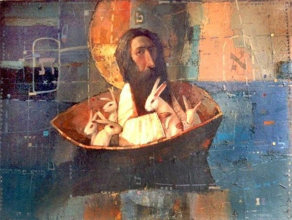 Грустные ангелы украинского живописца Александра Антонюка - Ярмарка Мастеров - ручная работа, handmade