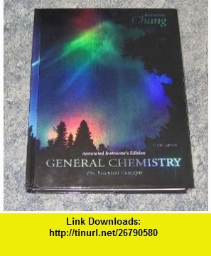 8 best book torrents images on pinterest general chemistry the essential concepts instructors edition 9780073048574 raymond chang isbn fandeluxe Images
